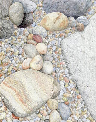 Painting - On The Rocks by Tammie Painter