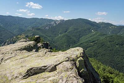 Photograph - On The Rocky Summit - Climbing Mountains Is Its Own Reward  by Georgia Mizuleva