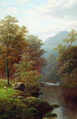 Ambleside Wall Art - Painting - On The Rothay by MotionAge Designs