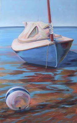Painting - On The Sandbar by Trina Teele