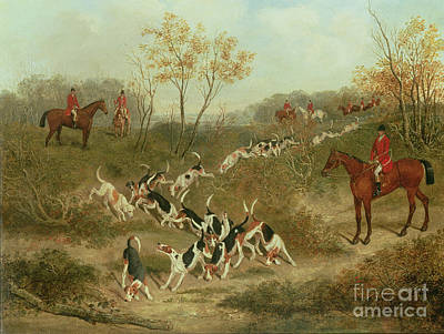 Fox Hunting Painting - On The Scent by James Russell Ryott