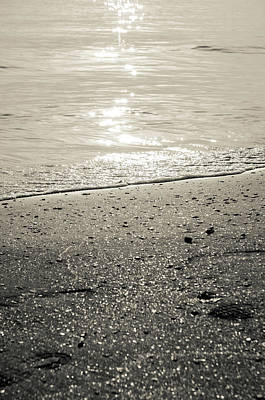 Photograph - On The Shining Sea - Bw by Andrea Mazzocchetti