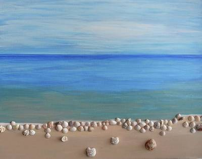 Painting - On The Shore 2 by Surbhi Grover