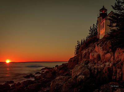 Photograph - On The Shore Of Maine by Tim Bryan