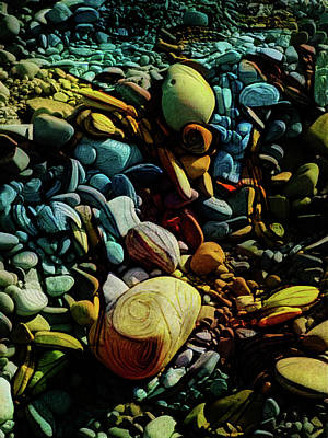 Digital Art - On The Shores Of My Imagination by Steve Taylor