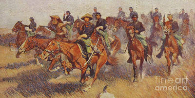 Painting - On The Southern Plains In 1860 by Frederic Remington