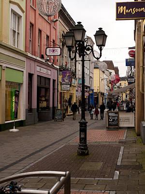 On The Street In Cork Art Print by Rae Tucker