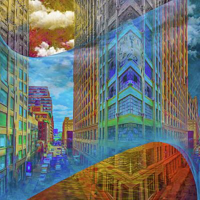 On The Street Original by Mac Titmus