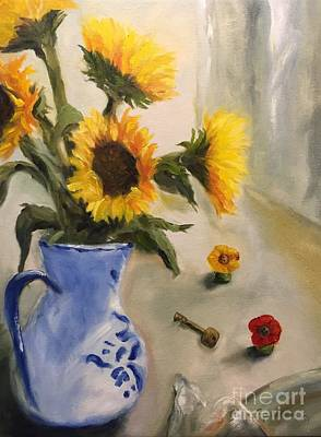 Painting - On The Table by Kathy Lynn Goldbach