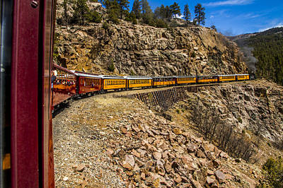 Photograph - On The Track To Silverton by TL  Mair