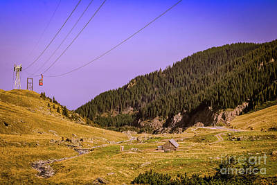Photograph - On The Tranfagarasan Road by Claudia M Photography