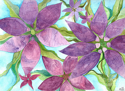Watercolor Painting - On The Vine by Sue Gardiner