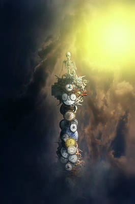 Digital Art - On The Watch Tower by Nathan Wright