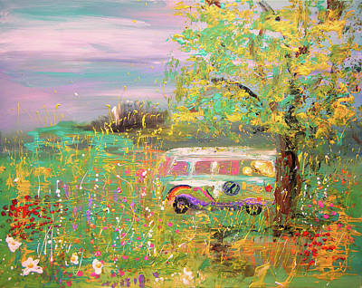 Painting - On The Way by Colleen Ranney