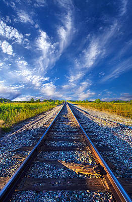 Railroad Park Photograph - On The Way by Phil Koch