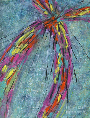 Mixed Media - On The Wing by Cyndi Lavin