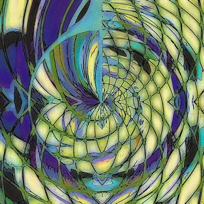 Digital Art - On The Wing Of A Dragonfly by Susan Maxwell Schmidt