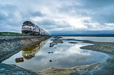 Alviso Photograph - On Time  by Sooper Traveler
