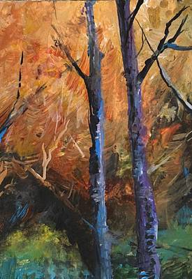 Painting - On To The New Season -autumn by Michele Carter