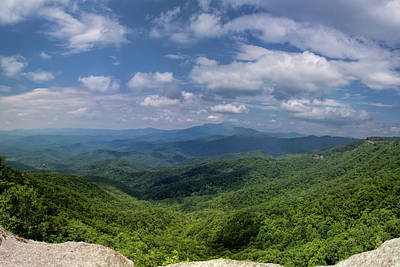 Photograph - On Top Of Blowing Rock by John Haldane