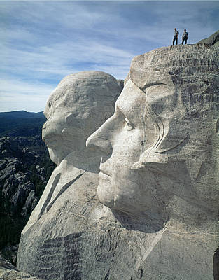 Photograph - 215715-a-on Top Of Mt. Rushmore  by Ed  Cooper Photography