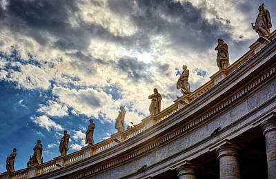 Photograph - On Top Of The Colonnades by Eduardo Jose Accorinti