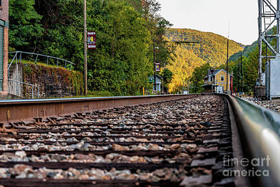 Photograph - On Track To Thurmond -wv by Kathleen K Parker