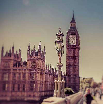 London Photograph - On Westminster Bridge  by Debra Cox