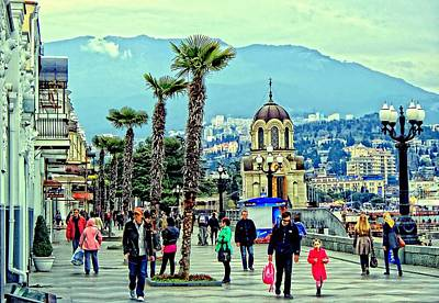 Photograph - On The Yalta Seafront  by Rick Todaro