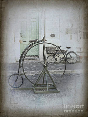 On Your Bike Art Print by Elaine Teague