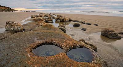 Photograph - Ona Beach Potholes by Loree Johnson