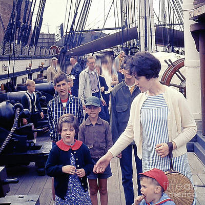 Photograph - Onboard The Uss Constitution by Merton Allen