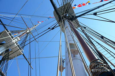 Photograph - Onboard Uss Constitution by Lori Pessin Lafargue
