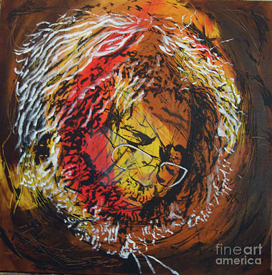 Painting - Once A Lion by Stuart Engel