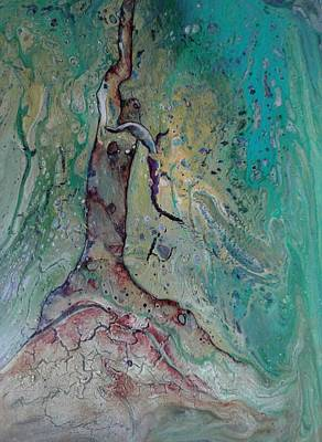 Painting - Once A Mighty Oak by Pat Purdy