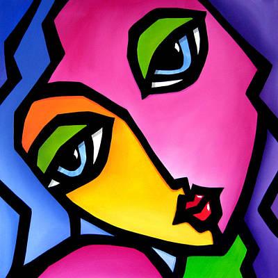 Once Again - Original Pop Art Original by Tom Fedro - Fidostudio