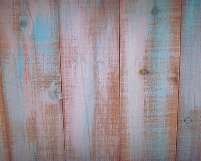 Photograph - Once-blue Wood by Sandy Taylor
