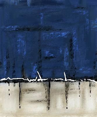Digital Art - Once In A Blue Moon by Eduardo Tavares