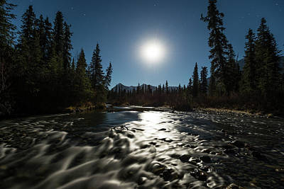 Photograph - Once In A Blue Moon by Ted Raynor