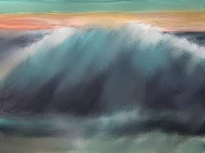 Seacape Painting - Once In A Lifetime by Karen Conine