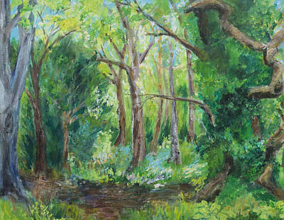 Painting - Once There Were Forests by Wendy Le Ber