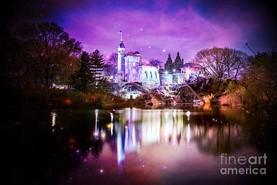 Reflections Digital Art - Once Upon A Fairytale by Az Jackson