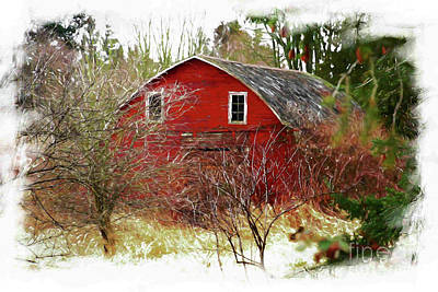 Rural Decay Digital Art - Once Upon A Time by Cheryl Rose