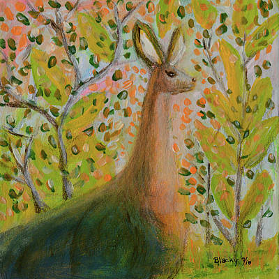 Mixed Media - Once Upon A Time by Donna Blackhall
