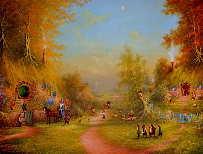Once Upon A Time In The Shire Original by Joe Gilronan