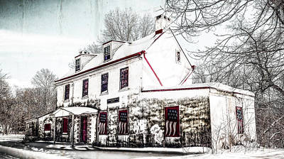 Digital Art - Vennell Tavern House 1795 by Melinda Dreyer