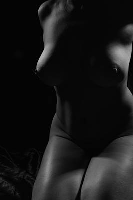 Photograph - Onchela Nude 1 by Michael McGowan