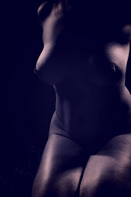Photograph - Onchela Nude 2 by Michael McGowan