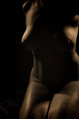 Photograph - Onchela Nude 3 by Michael McGowan