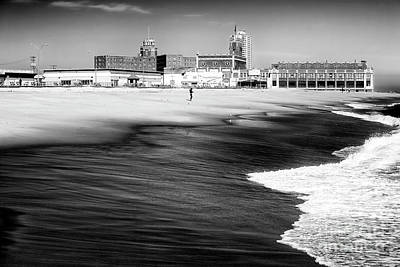 Photograph - One At Asbury Park Beach by John Rizzuto